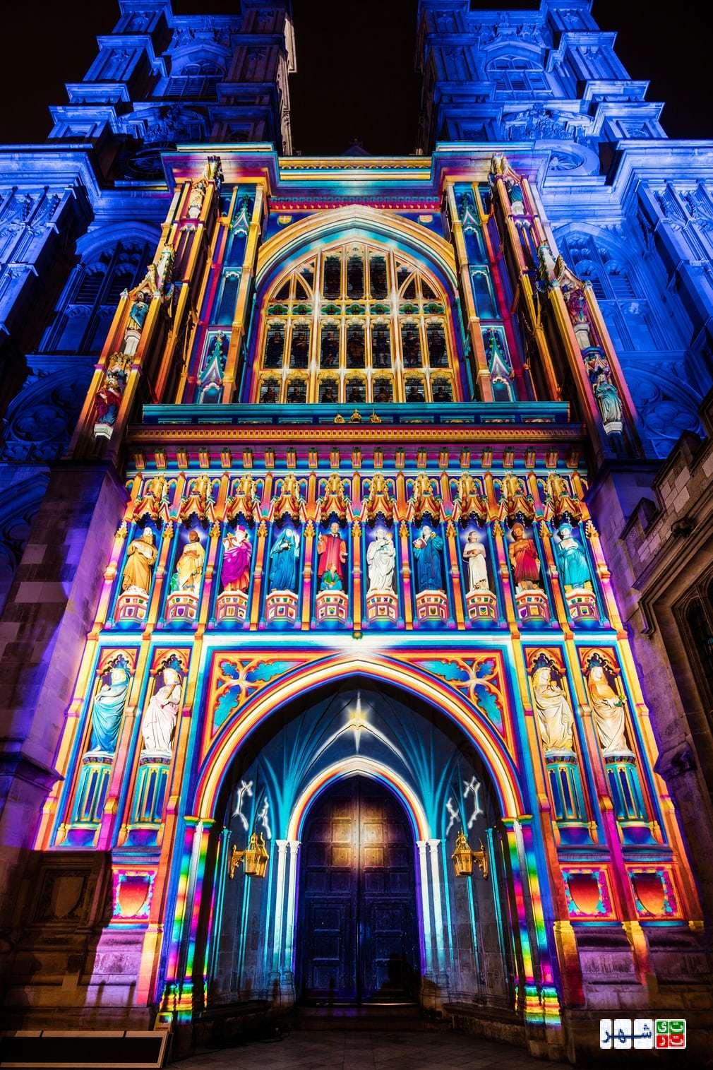 فستیوال نورپردازی در لندن