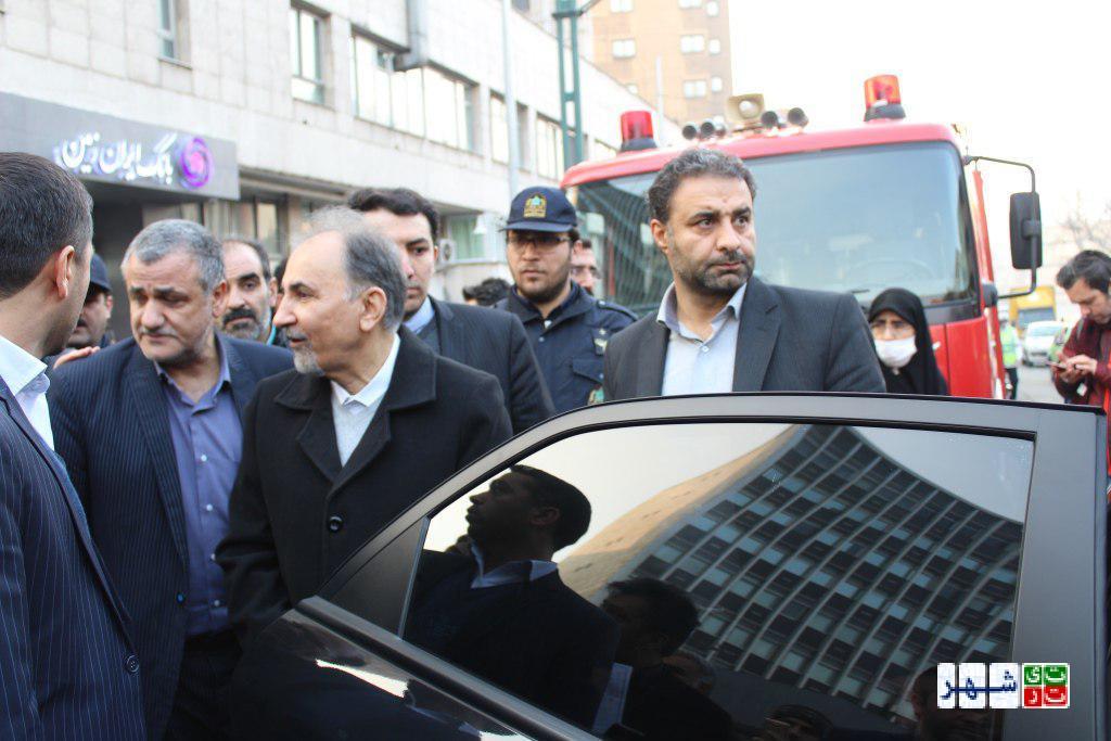 بازدید نجفی شهردار تهران از ساختمان وزارت نیرو