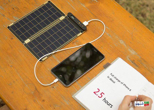 شارژر کاغذی موبایل ساخته شد+عکس