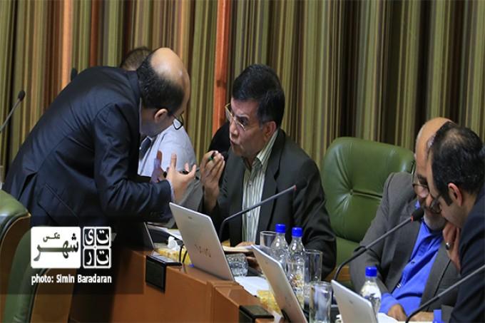 بررسی استعفای شهردار تهران پنجاه و چهارمین جلسه شورا