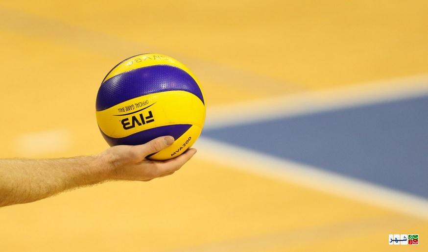 برنامه بازی های والیبال ایران در آمریکا